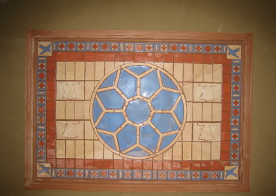 San Juan Capistrano-themed Tile Installation